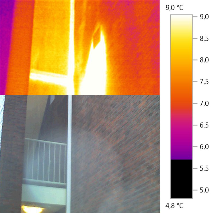 thermografisch onderzoek gebouw