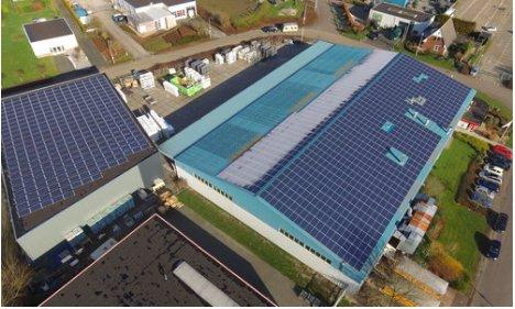 zonne-energie dak