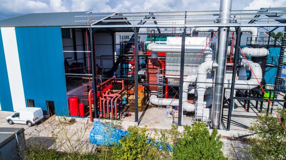 Biomassa energie klein kromhof