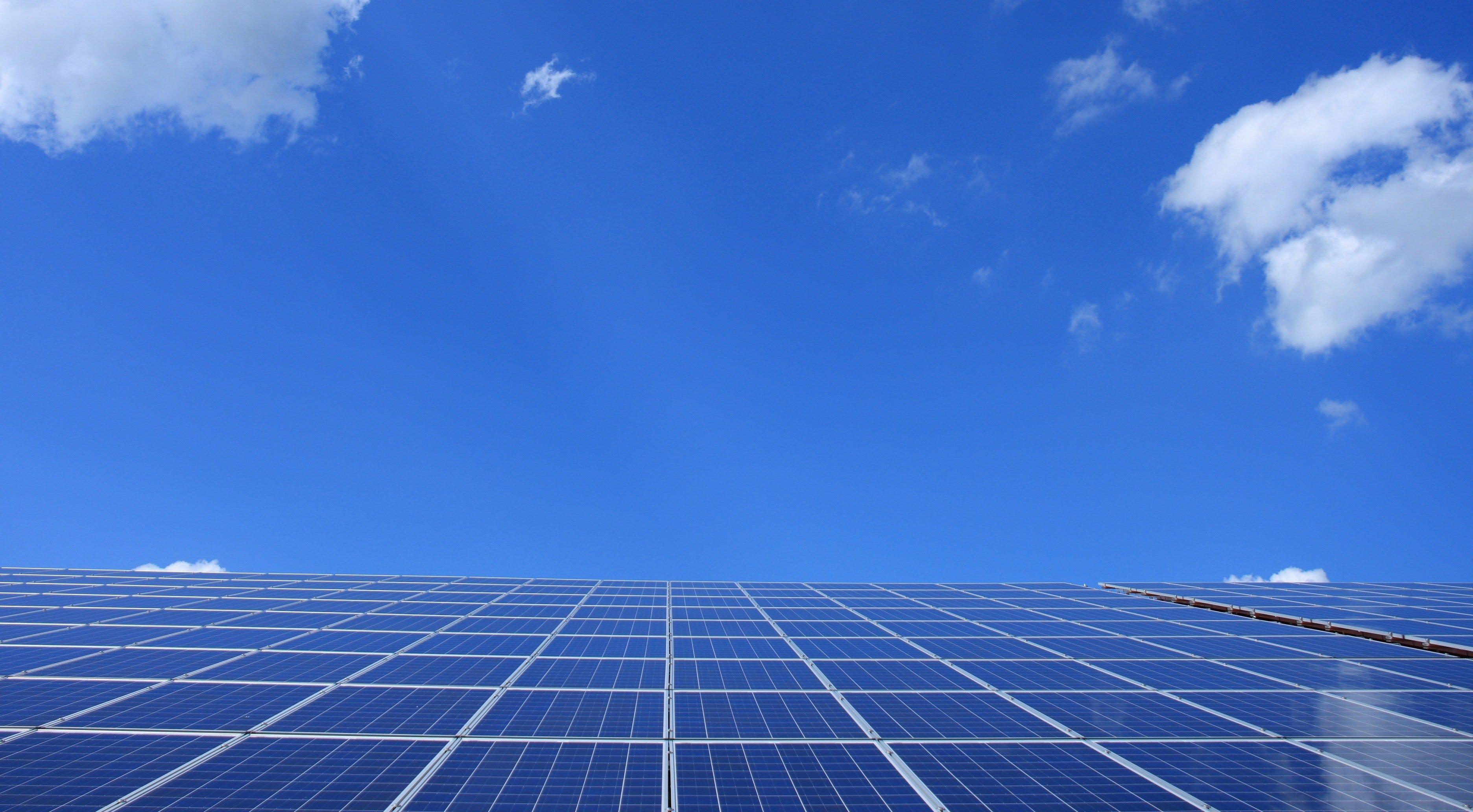 omgevingsvergunning milieu zonnepanelen